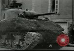 Image of tanks and infantry France, 1944, second 1 stock footage video 65675065389