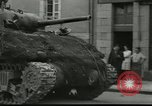 Image of tanks and infantry France, 1944, second 2 stock footage video 65675065389
