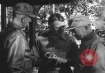 Image of Conference of Generals Myitkyina Burma, 1945, second 2 stock footage video 65675065395