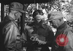 Image of Conference of Generals Myitkyina Burma, 1945, second 4 stock footage video 65675065395