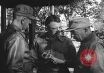 Image of Conference of Generals Myitkyina Burma, 1945, second 6 stock footage video 65675065395