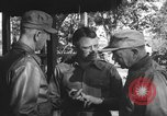 Image of Conference of Generals Myitkyina Burma, 1945, second 8 stock footage video 65675065395