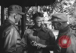 Image of Conference of Generals Myitkyina Burma, 1945, second 9 stock footage video 65675065395