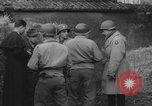 Image of German spy executed by U.S. firing squad Toul France, 1944, second 9 stock footage video 65675065399