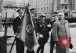 Image of Flag hosting ceremony Paris France, 1945, second 3 stock footage video 65675065406
