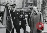Image of Flag hosting ceremony Paris France, 1945, second 4 stock footage video 65675065406