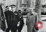 Image of Flag hosting ceremony Paris France, 1945, second 5 stock footage video 65675065406