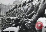 Image of Flag hosting ceremony Paris France, 1945, second 6 stock footage video 65675065406