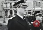 Image of Flag hosting ceremony Paris France, 1945, second 7 stock footage video 65675065406