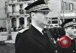 Image of Flag hosting ceremony Paris France, 1945, second 8 stock footage video 65675065406