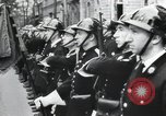 Image of Flag hosting ceremony Paris France, 1945, second 9 stock footage video 65675065406