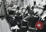 Image of Flag hosting ceremony Paris France, 1945, second 10 stock footage video 65675065406
