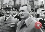 Image of Flag hosting ceremony Paris France, 1945, second 12 stock footage video 65675065406