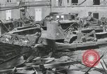 Image of Ruins after War Paris France, 1944, second 4 stock footage video 65675065416