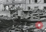 Image of Ruins after War Paris France, 1944, second 6 stock footage video 65675065416