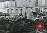 Image of Ruins after War Paris France, 1944, second 12 stock footage video 65675065416
