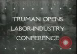 Image of President Truman United States USA, 1945, second 1 stock footage video 65675065419
