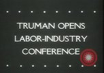 Image of President Truman United States USA, 1945, second 3 stock footage video 65675065419
