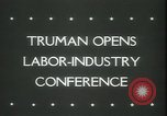 Image of President Truman United States USA, 1945, second 6 stock footage video 65675065419