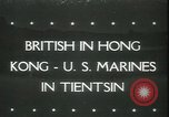 Image of British troops in Hong Kong China, 1945, second 1 stock footage video 65675065421