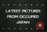 Image of Kure harbor Hiroshima Japan, 1945, second 1 stock footage video 65675065422