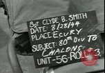 Image of 80th Infantry Division Chalons-sur-Marne France, 1944, second 4 stock footage video 65675065432