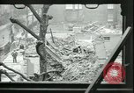 Image of ruins of buildings London England United Kingdom, 1945, second 7 stock footage video 65675065443