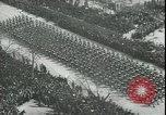 Image of military parade Madrid Spain, 1942, second 4 stock footage video 65675065452