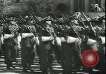 Image of military parade Madrid Spain, 1942, second 7 stock footage video 65675065452