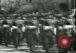 Image of military parade Madrid Spain, 1942, second 8 stock footage video 65675065452