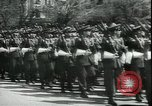 Image of military parade Madrid Spain, 1942, second 9 stock footage video 65675065452