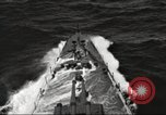 Image of Task Force 16 with Doolittle raiders underway in World War II Pacific Ocean, 1942, second 11 stock footage video 65675065474