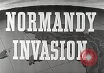 Image of Preparations for the Normandy invasion in World War 2 Atlantic Ocean, 1944, second 9 stock footage video 65675065477