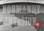 Image of Preparations for the Normandy invasion in World War 2 Atlantic Ocean, 1944, second 12 stock footage video 65675065477