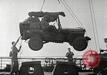 Image of Invasion ships making ready before D-day England, 1944, second 12 stock footage video 65675065478