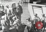Image of US troops in landing craft  ferried to transport ships Weymouth England, 1944, second 12 stock footage video 65675065479
