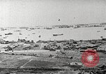 Image of Allied resupply operations on Omaha Beach Normandy France, 1944, second 1 stock footage video 65675065485