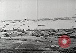 Image of Allied resupply operations on Omaha Beach Normandy France, 1944, second 2 stock footage video 65675065485