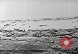 Image of Allied resupply operations on Omaha Beach Normandy France, 1944, second 4 stock footage video 65675065485