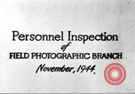 Image of Field Photographic Branch United States USA, 1944, second 8 stock footage video 65675065505
