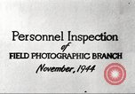 Image of Field Photographic Branch United States USA, 1944, second 9 stock footage video 65675065505