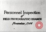 Image of Field Photographic Branch United States USA, 1944, second 10 stock footage video 65675065505