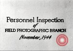 Image of Field Photographic Branch United States USA, 1944, second 11 stock footage video 65675065505