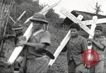 Image of burial of American fliers Burma, 1944, second 8 stock footage video 65675065506