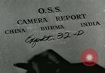 Image of Office of Strategic Services employing C-47s in commando operations Burma, 1944, second 9 stock footage video 65675065514