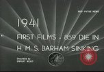 Image of HMS Barham Mediterranean Sea, 1941, second 1 stock footage video 65675065533