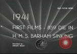 Image of HMS Barham Mediterranean Sea, 1941, second 2 stock footage video 65675065533