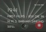 Image of HMS Barham Mediterranean Sea, 1941, second 3 stock footage video 65675065533