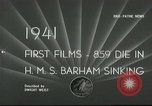 Image of HMS Barham Mediterranean Sea, 1941, second 4 stock footage video 65675065533