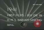 Image of HMS Barham Mediterranean Sea, 1941, second 6 stock footage video 65675065533